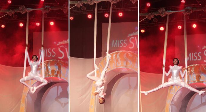 Best Talent -- Miss Lime Shadeisha George. (Photos: Zavique Morris/Iwn)