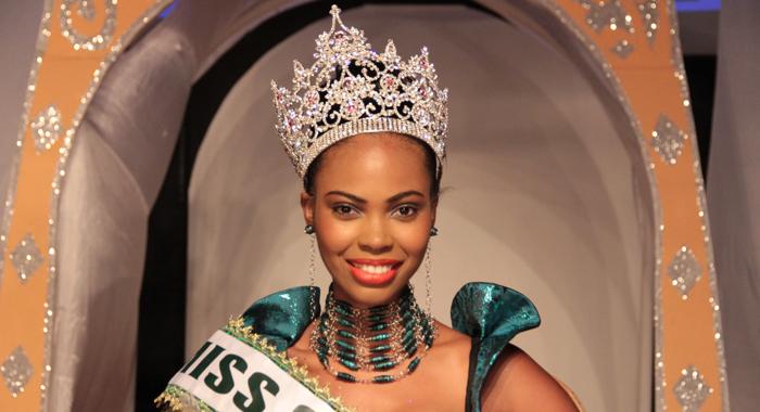 Miss Svg 2014 -- Miss Lime Shadeisha George. (Iwn Photo)