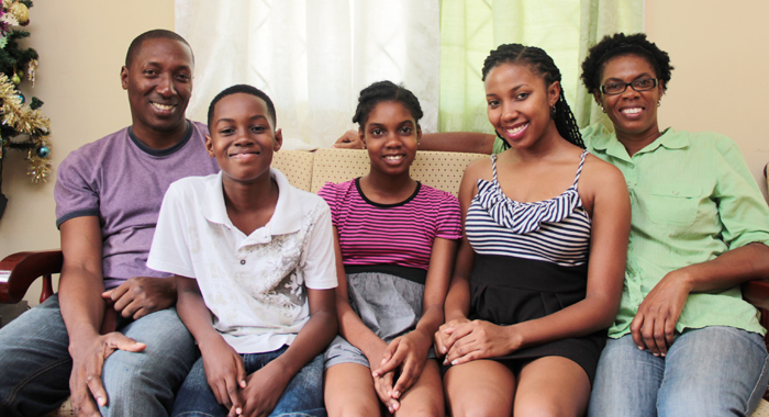 The Jonese. From Left: Roderick, Laron, La Rika, Rodika, And La Fleur. (Iwn Photo)