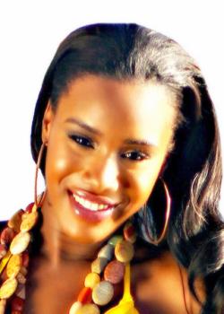 Miss Dominica - Miss Francine Tiffany Baron.