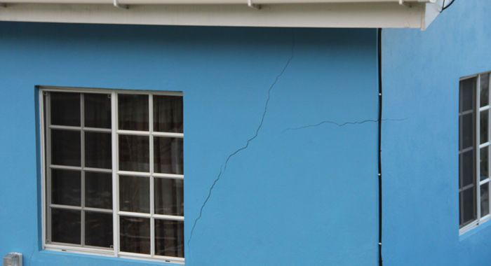 Large Cracks Have Already Appeared In The House At Clare Valley. (Iwn Photo)