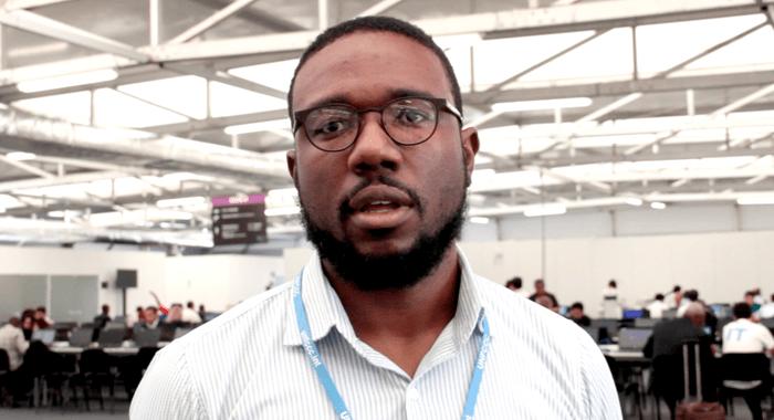 Jamaican Climate Talks Negotiator, Gerald Lindo. (Photo: Cmc/Iwn)