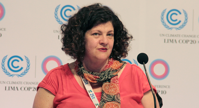 Kelly Dent Of Oxfam. (Iwn Photo)