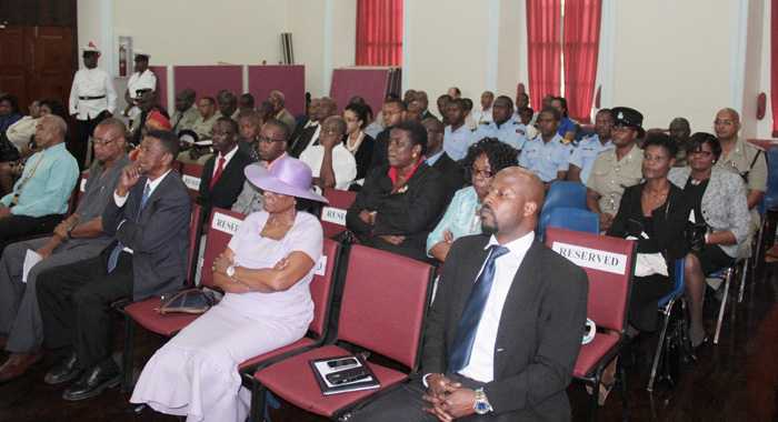 A Section Of The Strangers' Gallery During The Budget Presentation On Wednesday. (Iwn Photo)