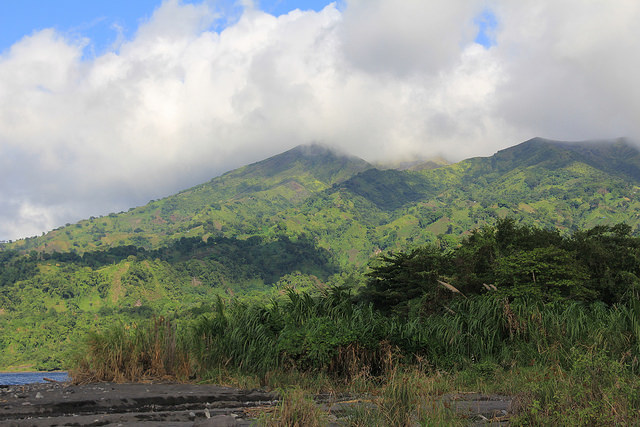 The Slopes Of St. Vincent's La Soufriere Volcano, Long The Home Of Illegally Grown Marijuana, Are Being Explored For Geothermal Potential. Credit: Kenton X. Chance/Ips