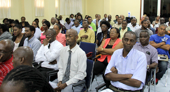 Another Section Of The Audience At The Consultation On Monday. (Iwn Photo)