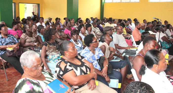 A Section Of The Crowd At The Ndp'S &Quot;Conversation With Women. (Iwn Photo)