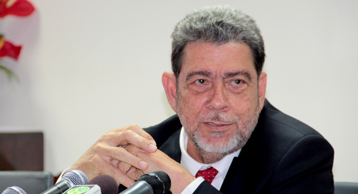 Prime Minister Dr. Ralph Gonsalves. (Iwn Photo)