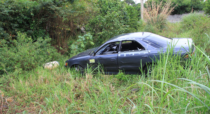 The Car, A Taxi, In Which Primus'S Body Was Found. (Iwn Photo)