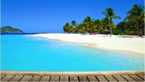 Exquisite Palm Island, The Grenadines.