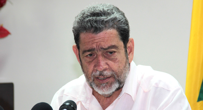 Prime Minister And Minister Of Finance Ralph Gonsalves Says The Proposal Will Trigger Additional Costs. (Iwn Photo)