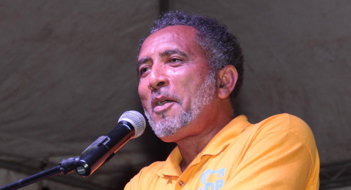 Mp For The Northern Grenadines And Ndp Vice-President, Dr. Godwin Friday. (Iwn Photo)