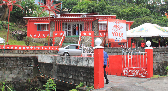 The Unity Labour Party'S Headquarters On Murray'S Road, Kingstown. (Iwn Photo)
