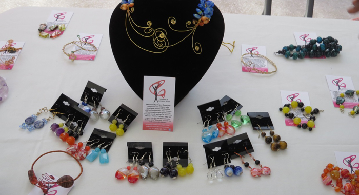 """Handmade Jewellery Made By Survivors Under The """"Butterfly Project""""."""