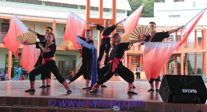 Taiwan Youth Ambassador Perform At The Community College In September.