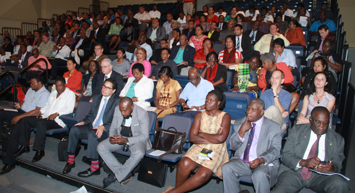 Participants At The Opening Ceremony Of The Caribbean-Pacific Agri-Food Forum In Barbados On Monday. (Photo: Kenroy Ambris)