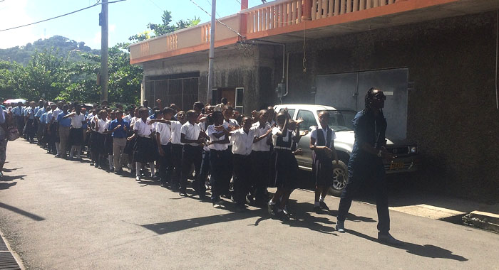 Mr Killa Films A Music Video In Gouyave, Grenada.