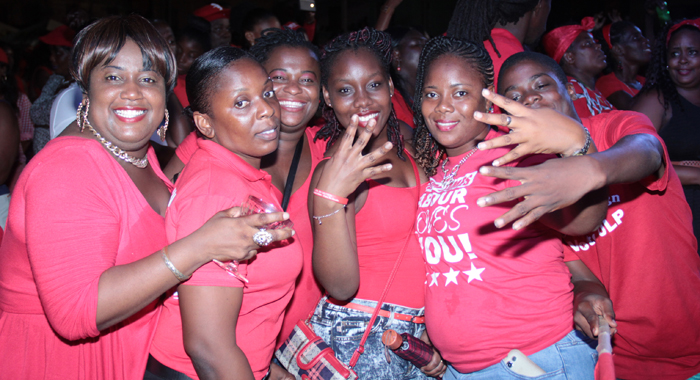 Young Ulp Supporters At A Campaign Event Earlier This Year. (Iwn Photo)