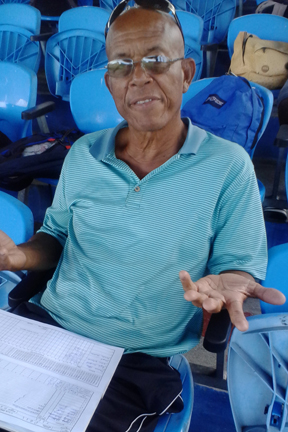 Stanley Hinds Says &Quot;Mankading&Quot;  Is No Big Deal.