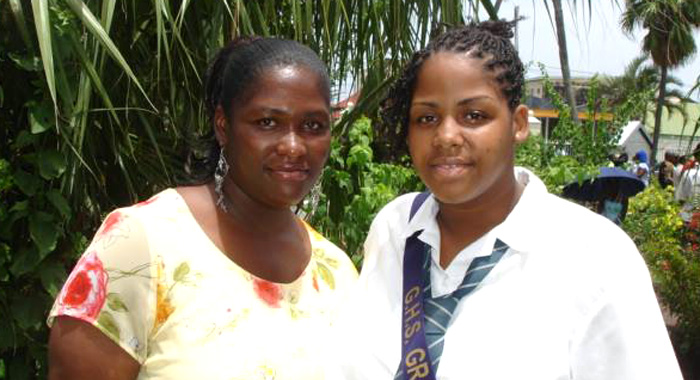 Ayana Graduated Girls High School In 2008. She Is Seen Here With Her Mother, Nicole Lee-Homer.