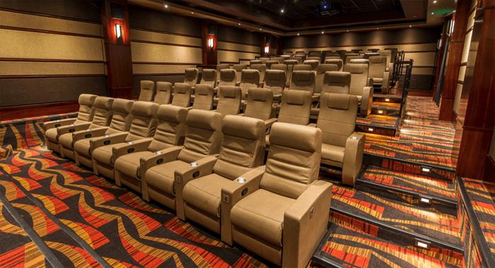 The Elegant Seating At A Movietowne Cinema.
