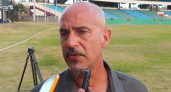 Soca Warriors Coach, Stephen Hart. (Photo: E. Glenford Prescott)