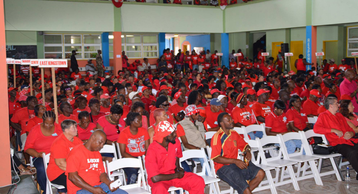 A Section Of The Audience At The Ulp'S Convention On Sunday. (Photo: Duggie &Quot;Nose&Quot; Joseph)