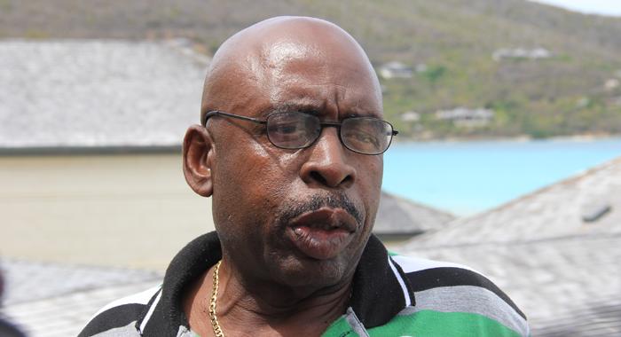 Director Of Grenadines Affairs, Edwin Snagg. (Iwn Photo)