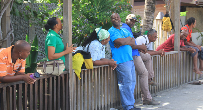Maintenance Workers At The Resort Also Decided To Go On Strike Over The Non-Payment Of Wages. (Iwn Photo)