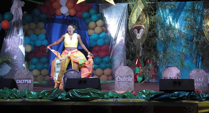Best Talent: Keishell Robertson -- Miss Fanfare Events. (Iwn Photo)