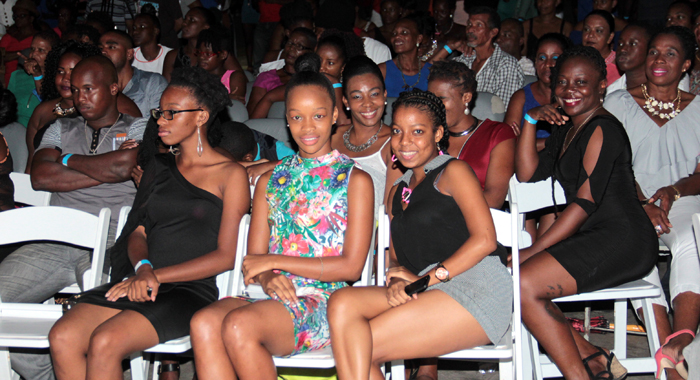 A Section Of The Audience At Friday'S Show. (Iwn Photo)