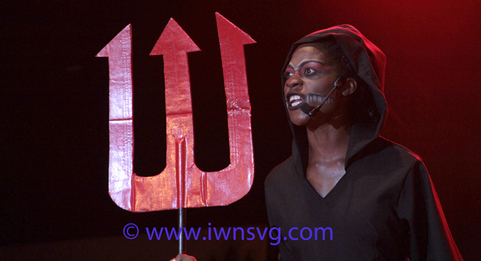 """Zenna Lewis' &Quot;Message From Below"""" Moved The Audience And Massaged The Judges' Hearts In The Talent Category. (Iwn Photo)"""