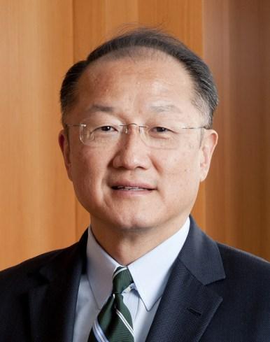 Jim Yong Kim, President Of The World Bank Group.