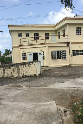 Repairs Have Been Done On The Road Outside The Lowmans Windward Clinic. (Iwn Photo)