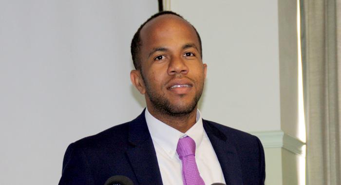 Minister Of Health, Sen. Luke Browne. (Iwn Photo)