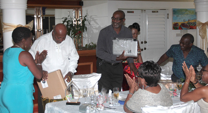 The Teachers Were Presented With Gift, Including Computers, At The Event. (Iwn Photo)