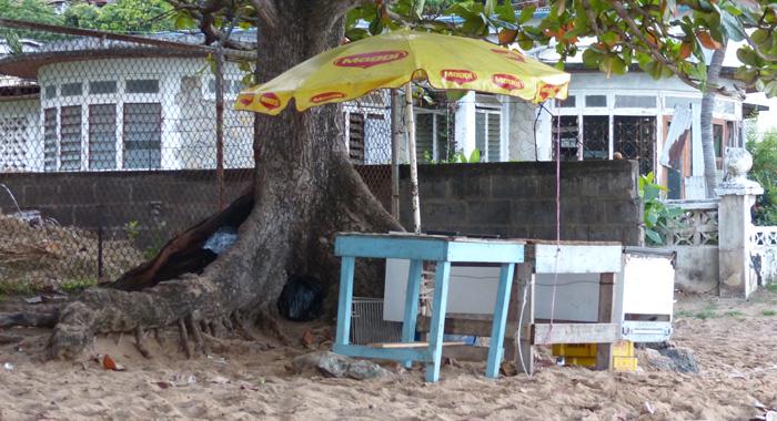 Beach Kiosk - Svg