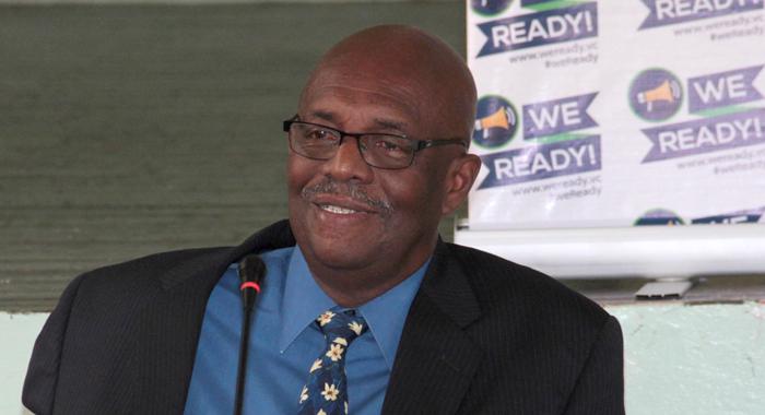 Leader Of The Opposition Arnhim Eustace. (Iwn Photo)