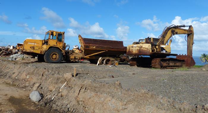 More Derelict Vehicles At Argyle International Airport.