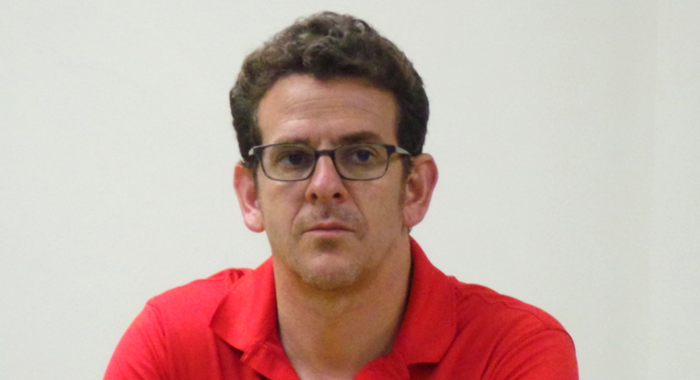 U.s. Men'S National Soccer Team'S Press Officer, Michael Kammarman.