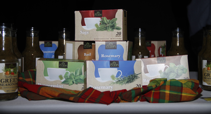 Some Of Taste Of Eden'S Products. (Photo: Kenton X. Chance)