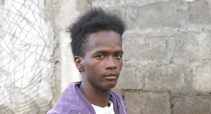 Omari Hoyte Lost His Business As A Result Of Damage To The Building In Which It Was Located. (Iwn Photo)