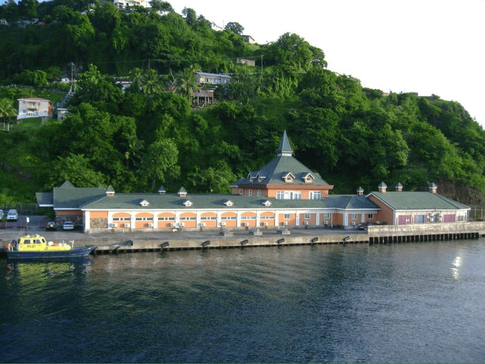 Kingstown Cruise Ship Terminal