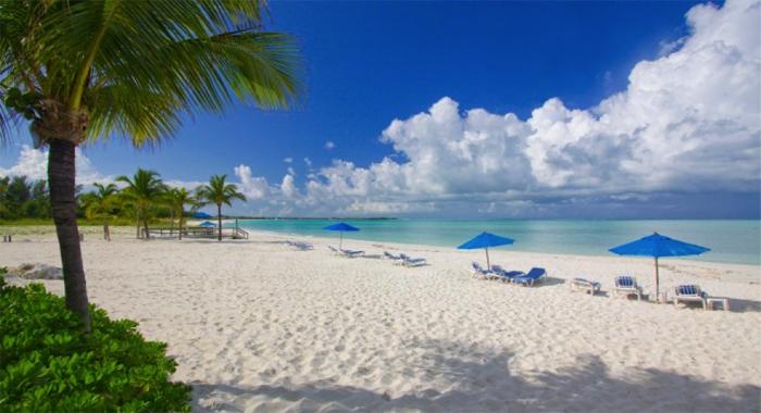 A Typical Bahamian Beach