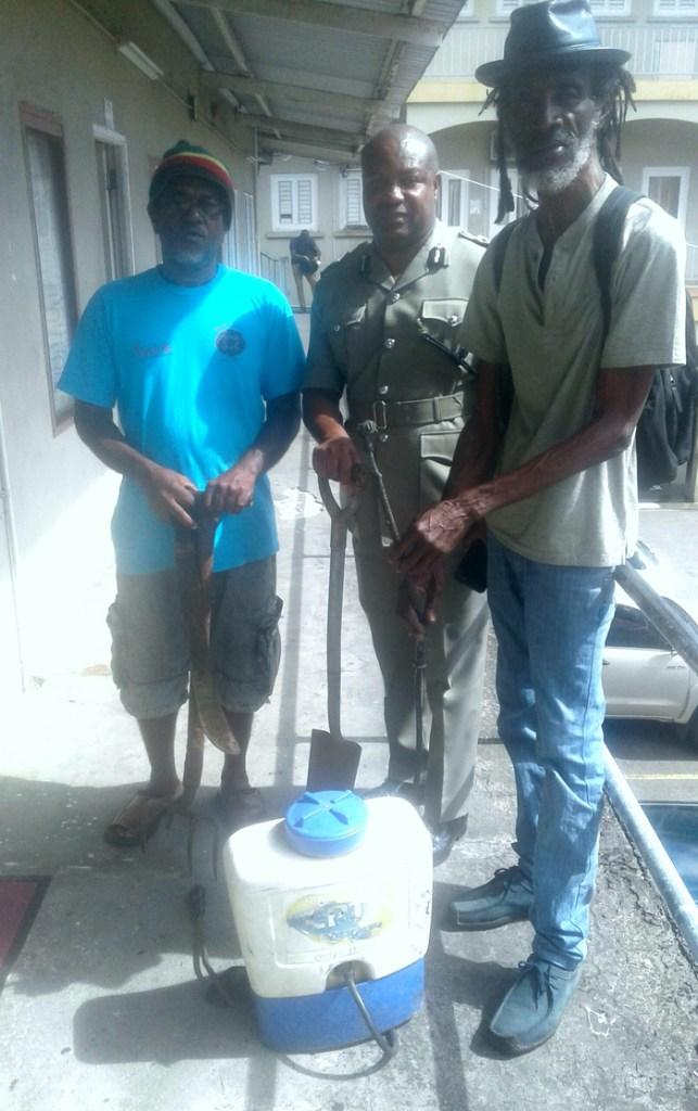 Police Ganja Farmers Tool