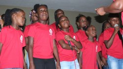 Rose Hall Police Youth Club Carolers