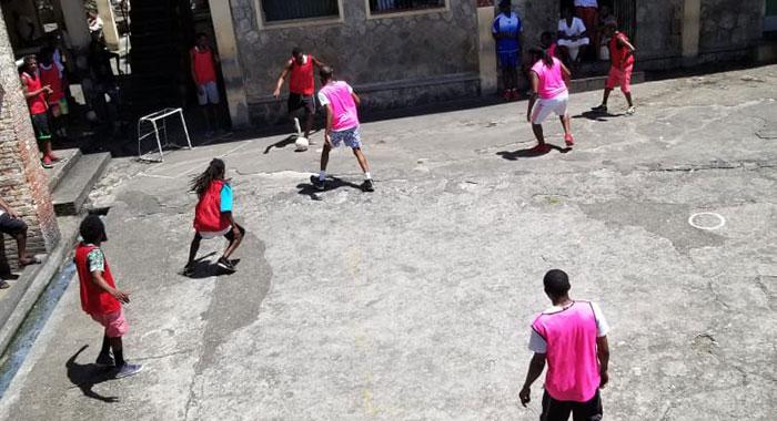 Prison Soccer 1