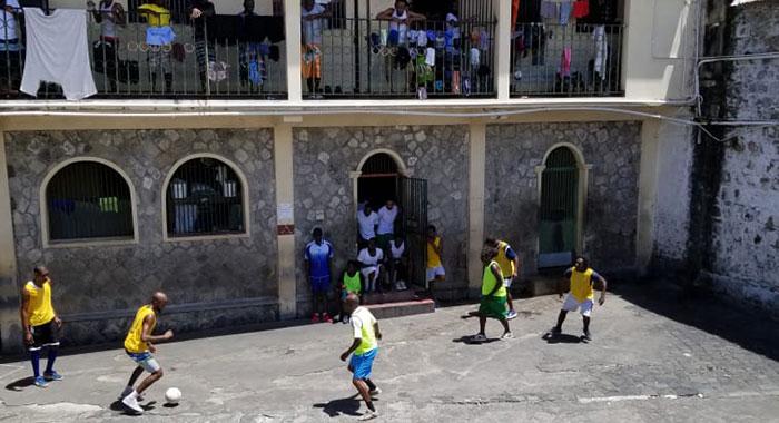 Prison Soccer 2