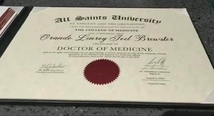 Randy Brewsters Certificate2