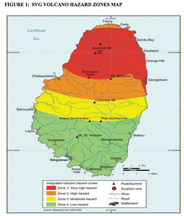 Volcano Hazard Map